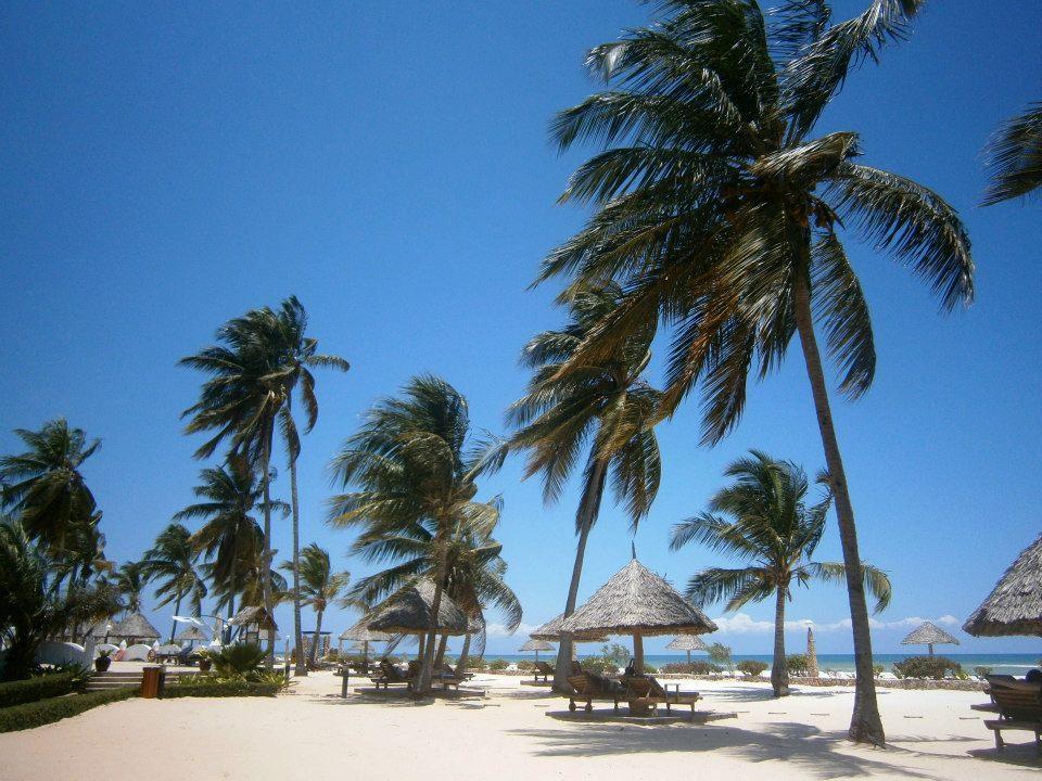 Kunduchi Beach Hotel Menu
